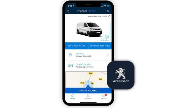 PEUGEOT e-Traveller - Application MyPeugeot