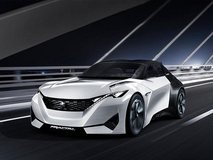Concept Car Fractal