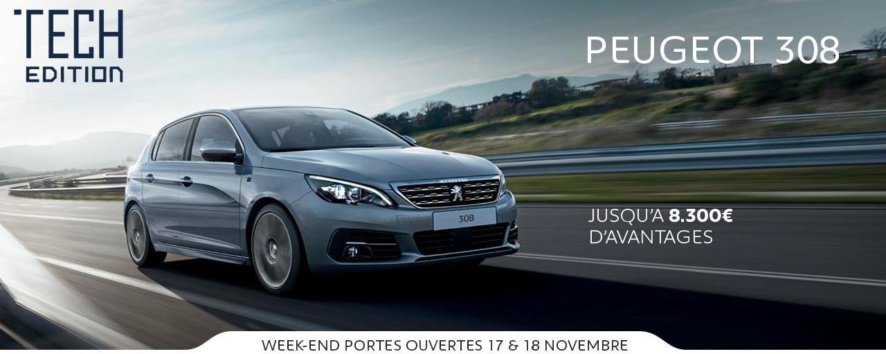 Peugeot 308 Tech Edition