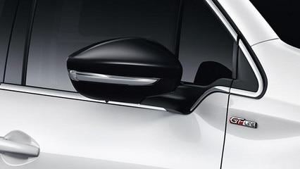 PEUGEOT 208 GT LINE : Coques de rétroviseurs Noir Perla Nera