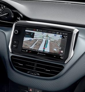 Grand écran tactile 7'' – Voiture compacte Peugeot 208 5 portes