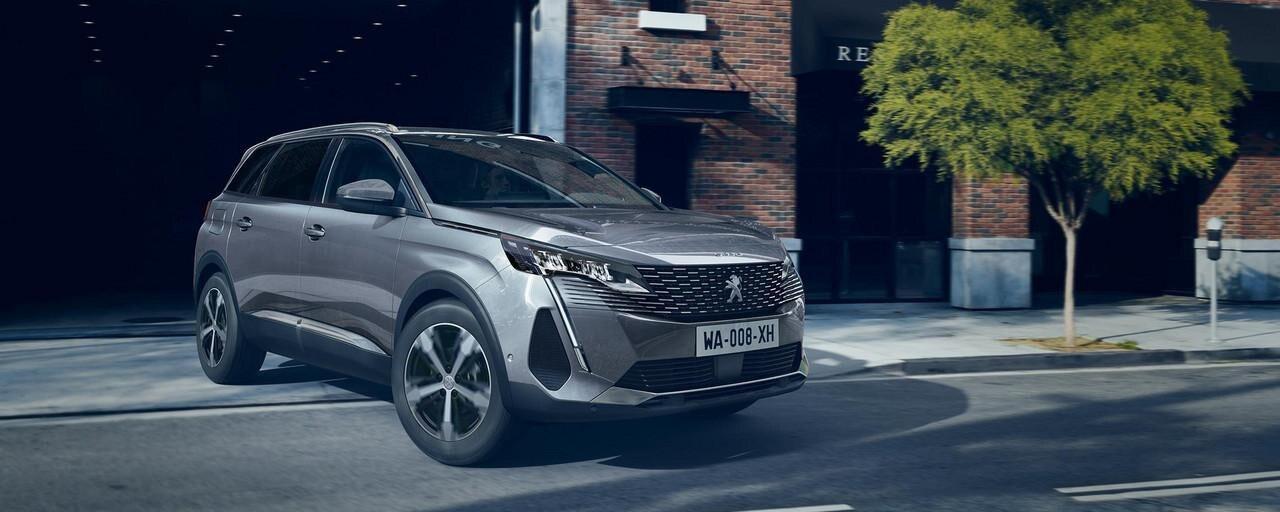 Nieuwe SUV Peugeot 5008 voor profesionnals