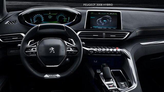 SUV PEUGEOT 3008 HYBRID4 : i-Cockpit®