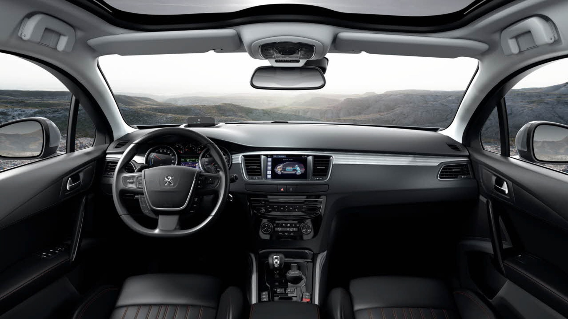 Peugeot 508 rxh foto 39 s en video 39 s performante allroad for Interieur 508 rxh