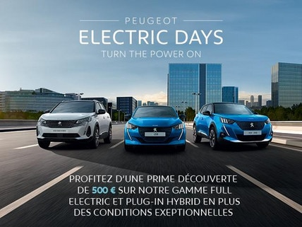 PEUGEOT - ELECTRIC DAYS