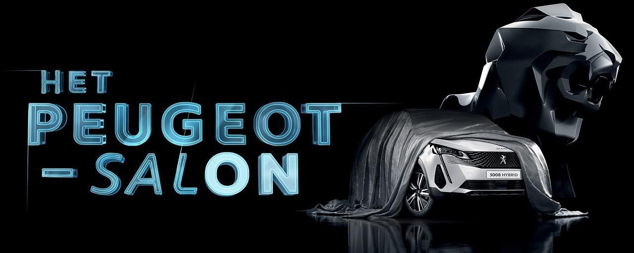 HET PEUGEOT-AUTOSALON