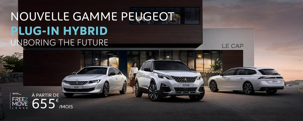 Peugeot Gamme Plug-in Hybride
