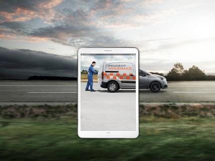 Peugeot après-vente smartphone