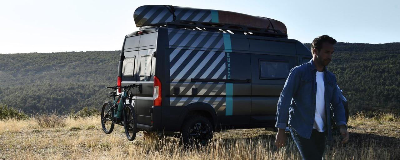 PEUGEOT BOXER 4x4 CONCEPT: la vision de la marque PEUGEOT du véhicule de loisirs