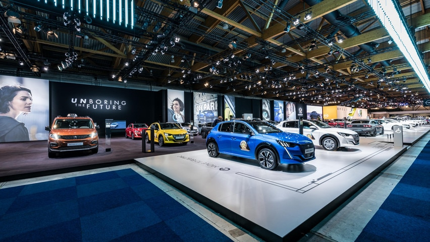 Peugeot Brussels Motor Show 2020