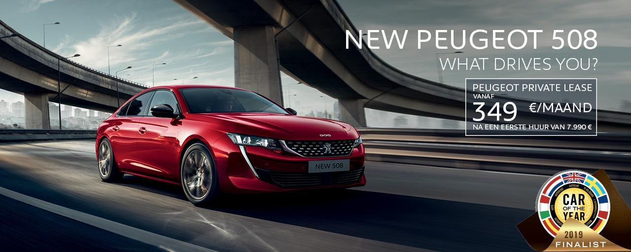 Peugeot 508 Car Of The Year Qualification