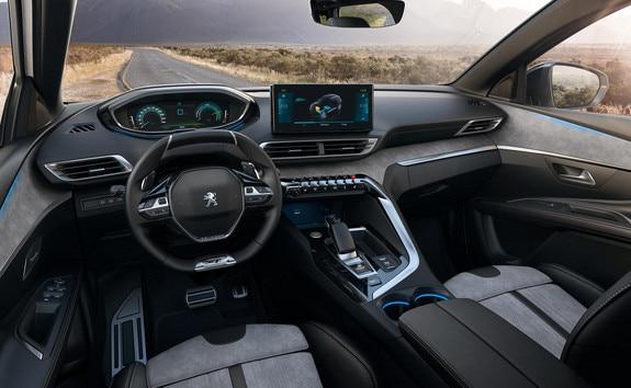 Nieuwe SUV Peugeot 3008 HYBRID : Peugeot i-Cockpit