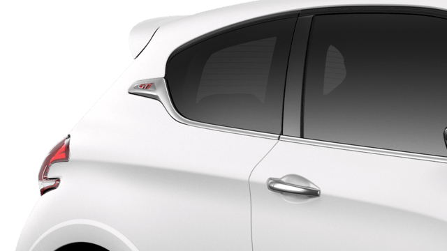 PEUGEOT 208 GTi : teinte texturée Ice White