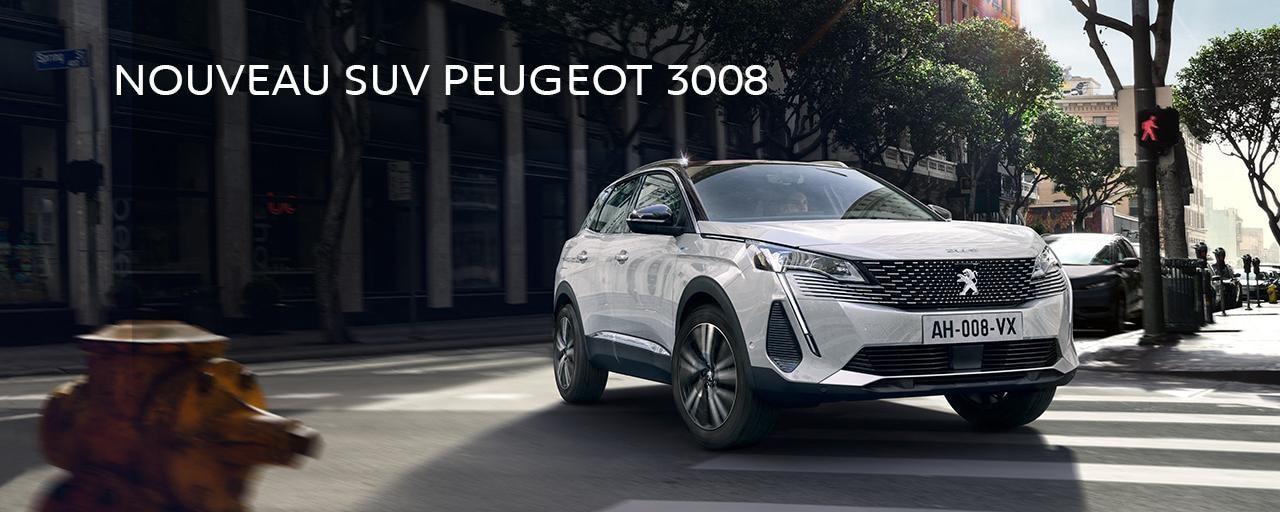 NOUVEAU SUV PEUGEOT 3008