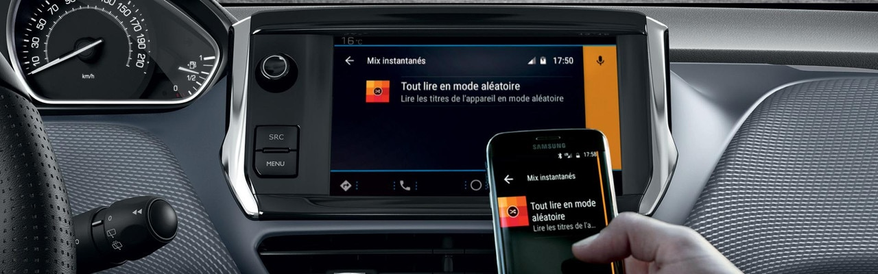 Mirror Screen – Voiture compacte Peugeot 208 5 portes