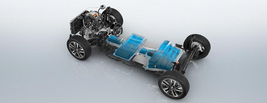 Nouveau SUV électrique PEUGEOT e-2008 pour les professionnels : base roulante électrique