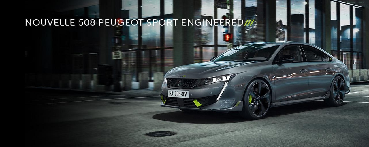 NOUVELLE 508 PEUGEOT SPORT ENGINEERED